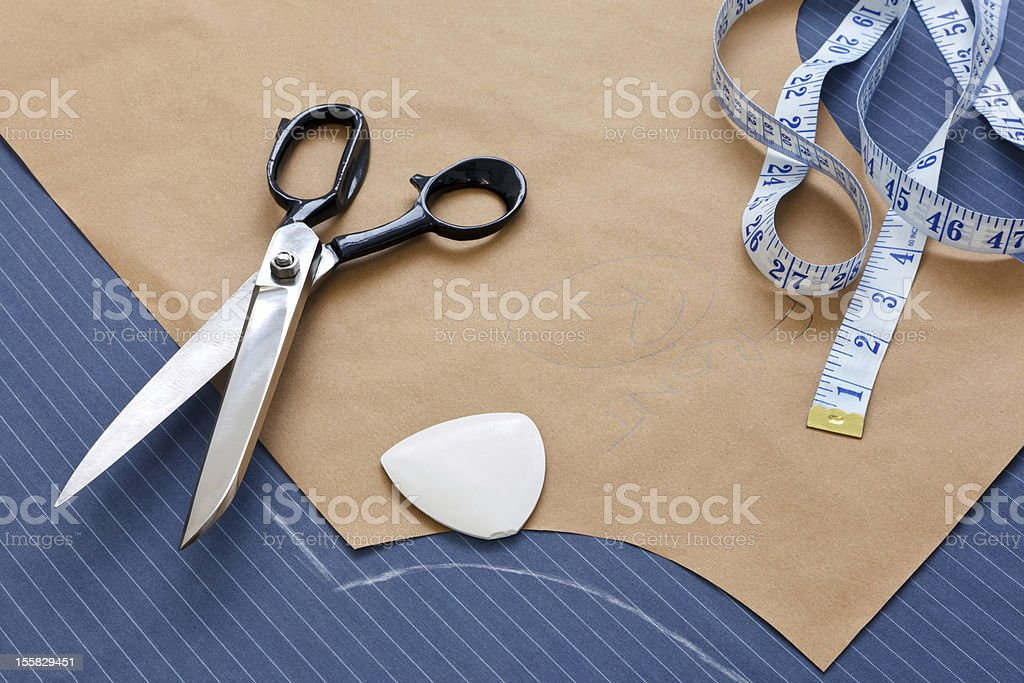 Suit template still life stock photo