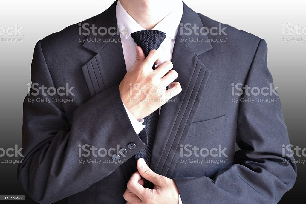 Suit Up stock photo