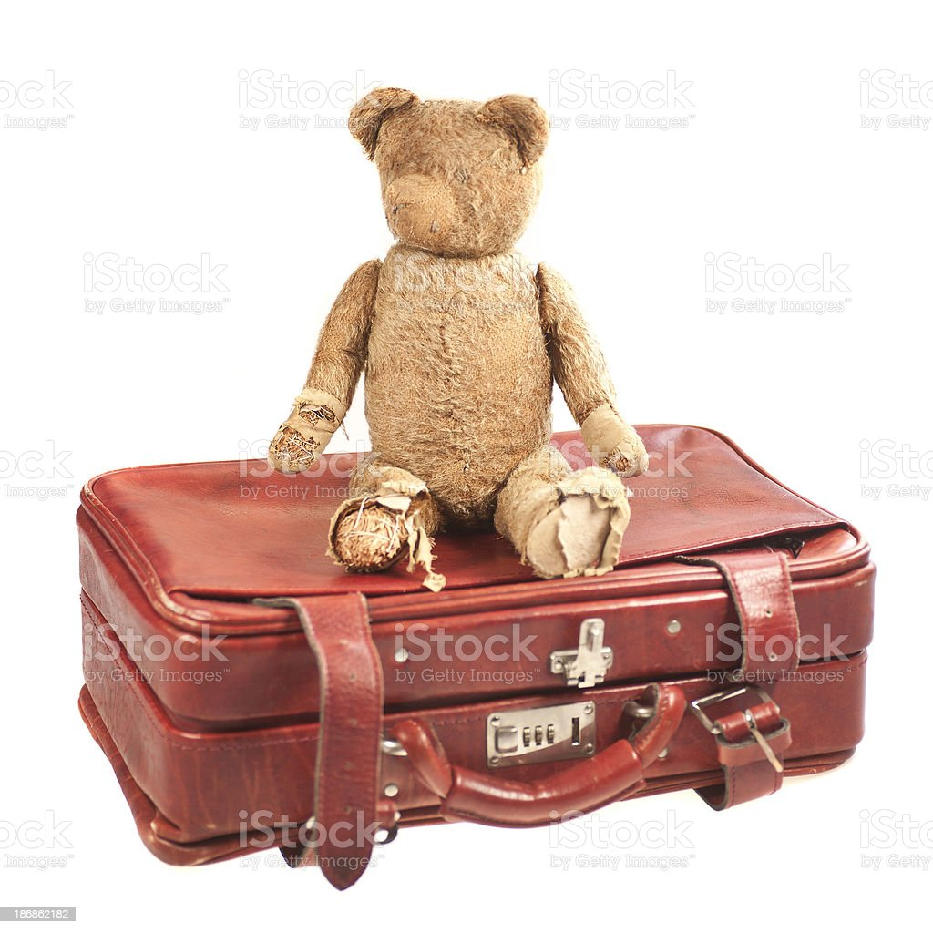 suitcase for kids royalty-free stock photo