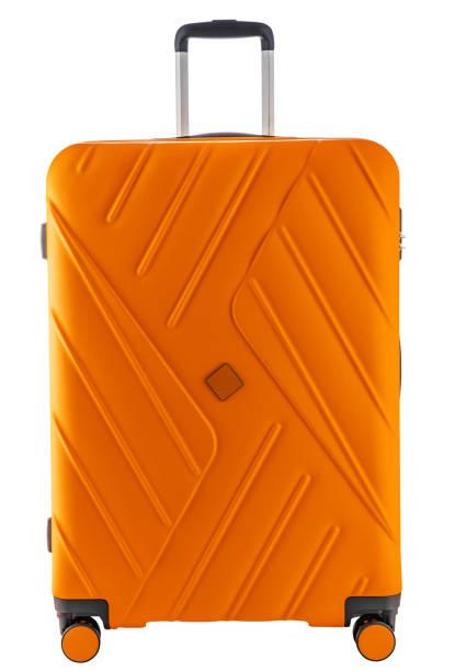 Koffer für Reisen isoliert mit Clipping-Pfad – Foto