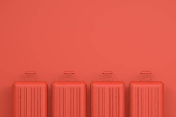 Koffer, minimale Reisekonzept – Foto
