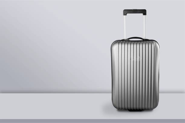 Suitcase. Big travel suitcase on background carry on luggage stock pictures, royalty-free photos & images