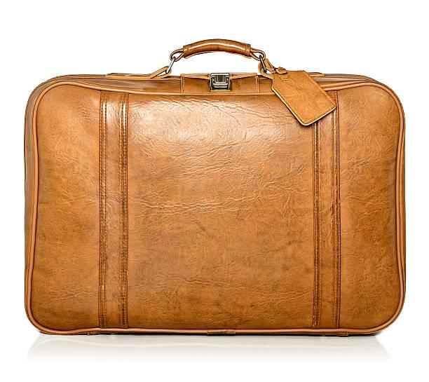 koffer  - vintage bag stock-fotos und bilder