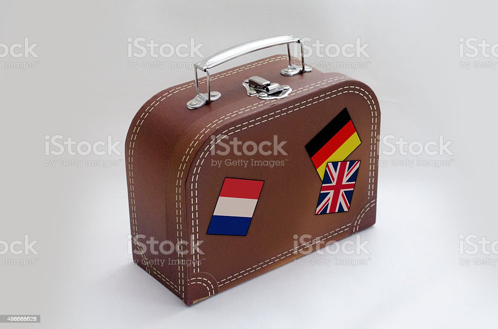 suitcase tourist stock photo