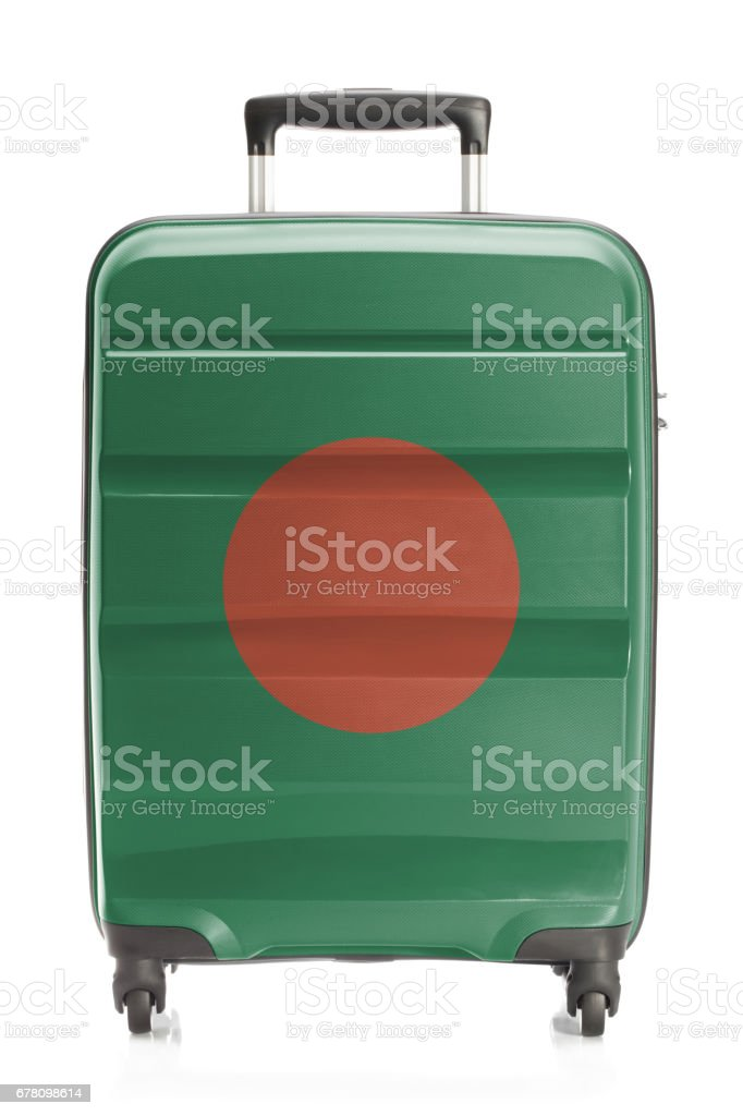 Suitcase with national flag series - Bangladesh - foto de stock