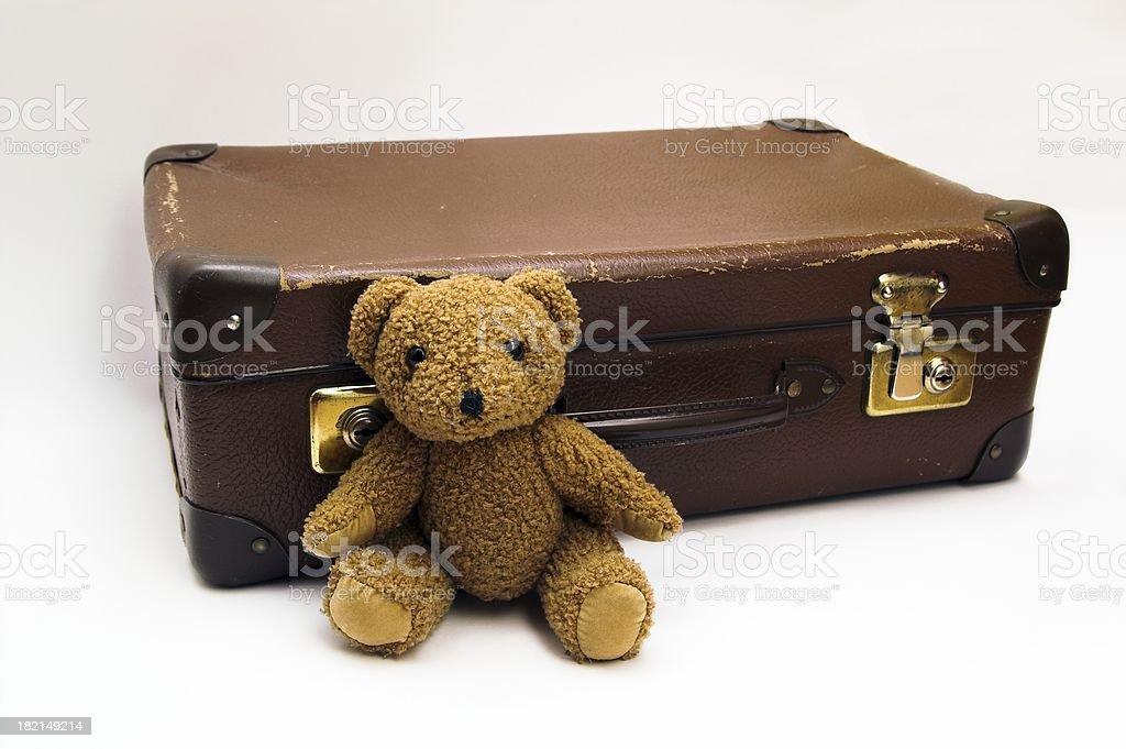Valise avec Teddy 6 - Photo