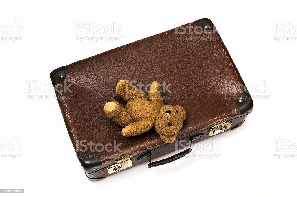 Valise avec Teddy 7 - Photo