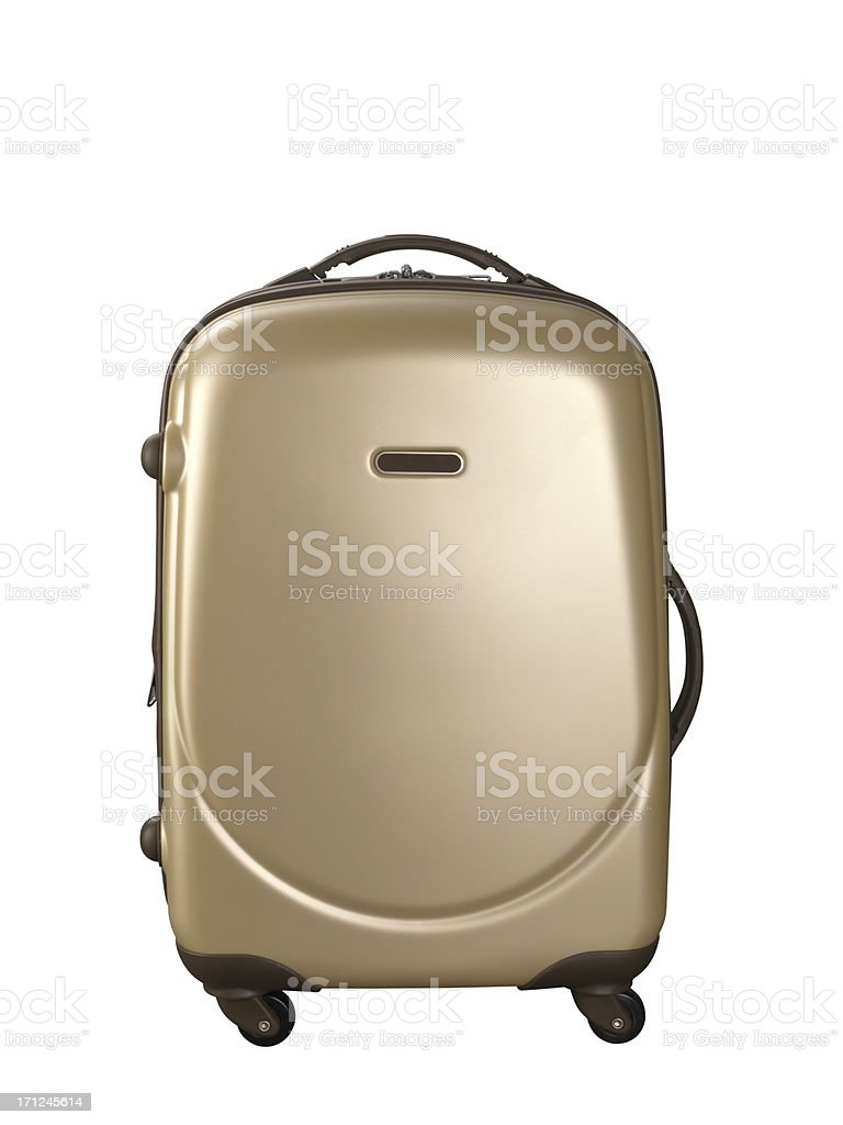 Suitcase+Clipping Path (Click for more) royalty-free stock photo