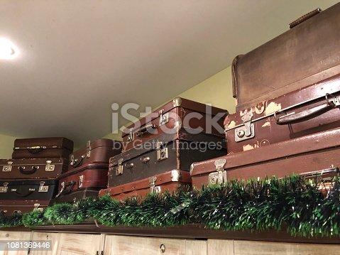 627291036 istock photo Suitcase,Old,Travel,Memories 1081369446