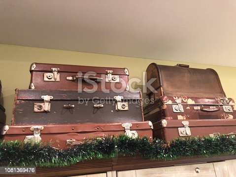 istock Suitcase,Old,Travel,Memories 1081369476