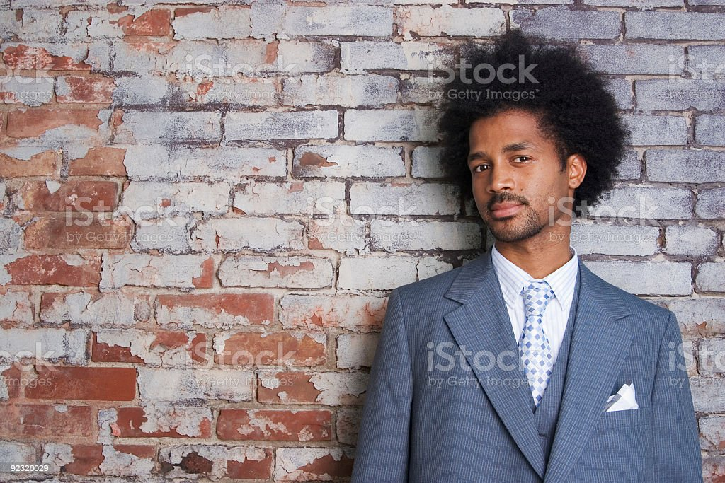 suited royalty-free stock photo