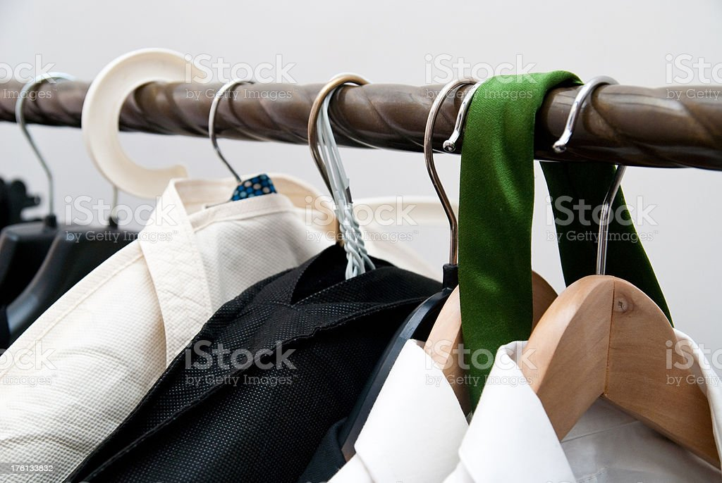 suits on bail stock photo