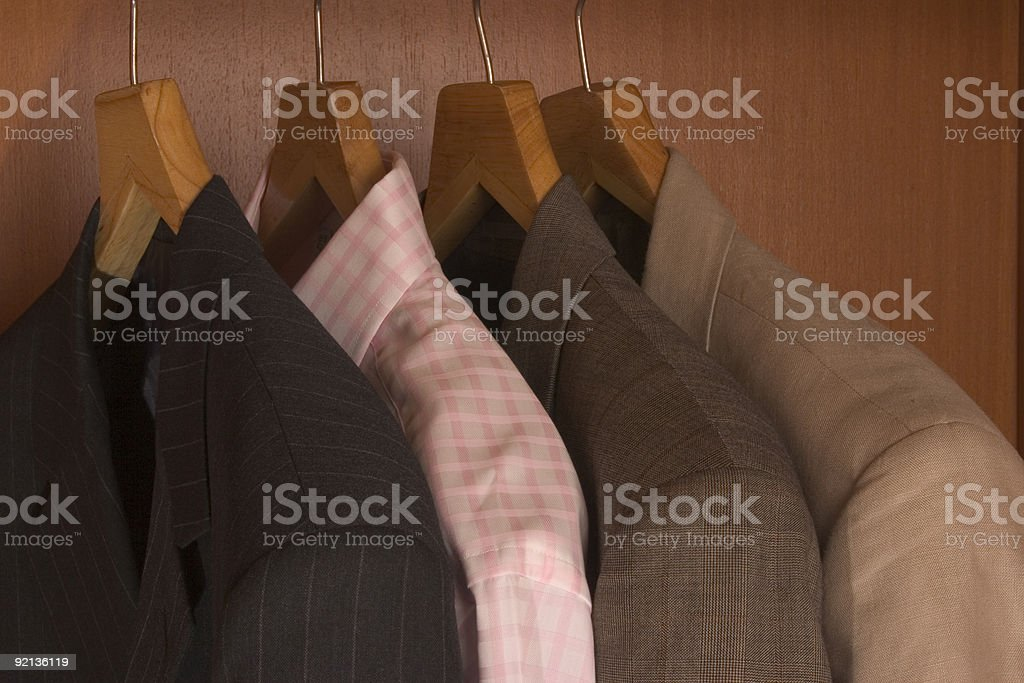 Suits royalty-free stock photo