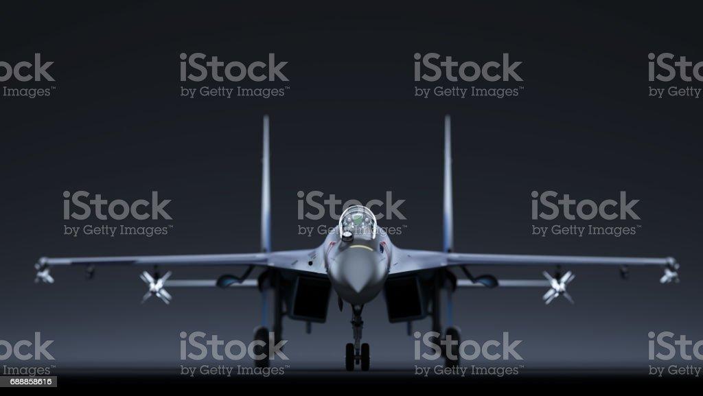 Sukhoi Su-35 stock photo