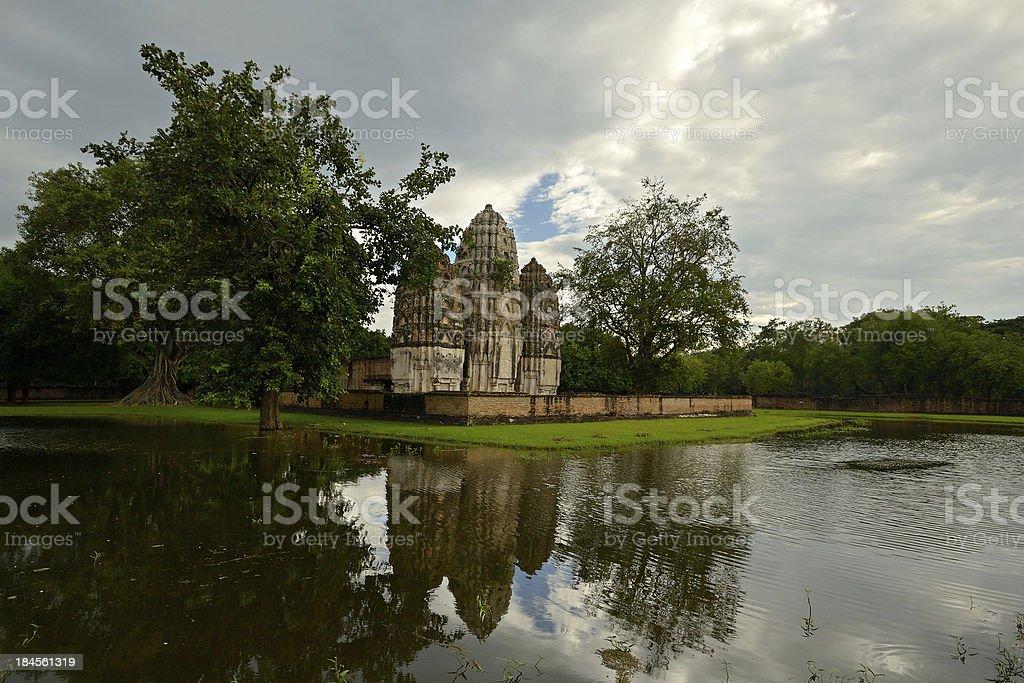 Sukhothai Historical Park royalty-free stock photo