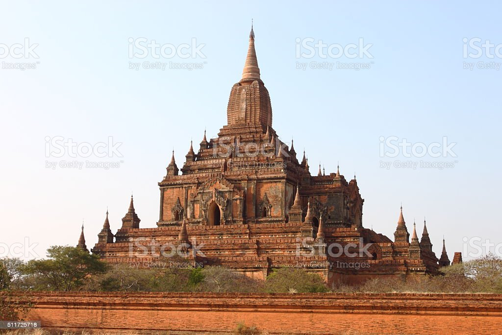 Sulamani, old Buddhist temples and pagodas in Bagan, Myanmar stock photo