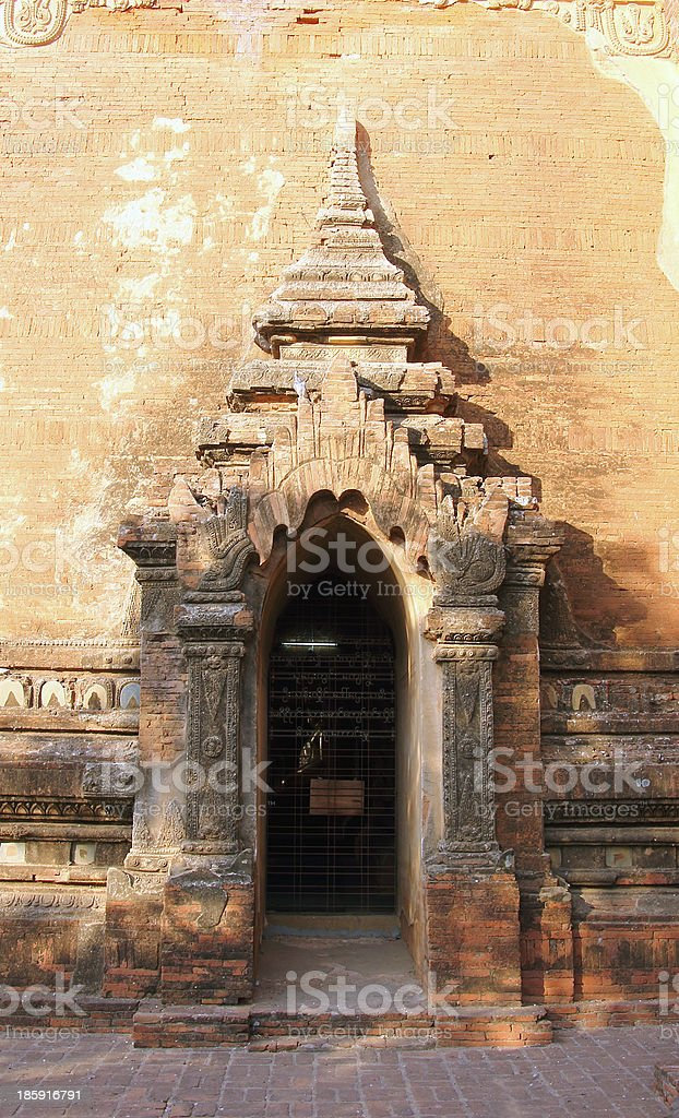 Sulamani temple_side entrance royalty-free stock photo