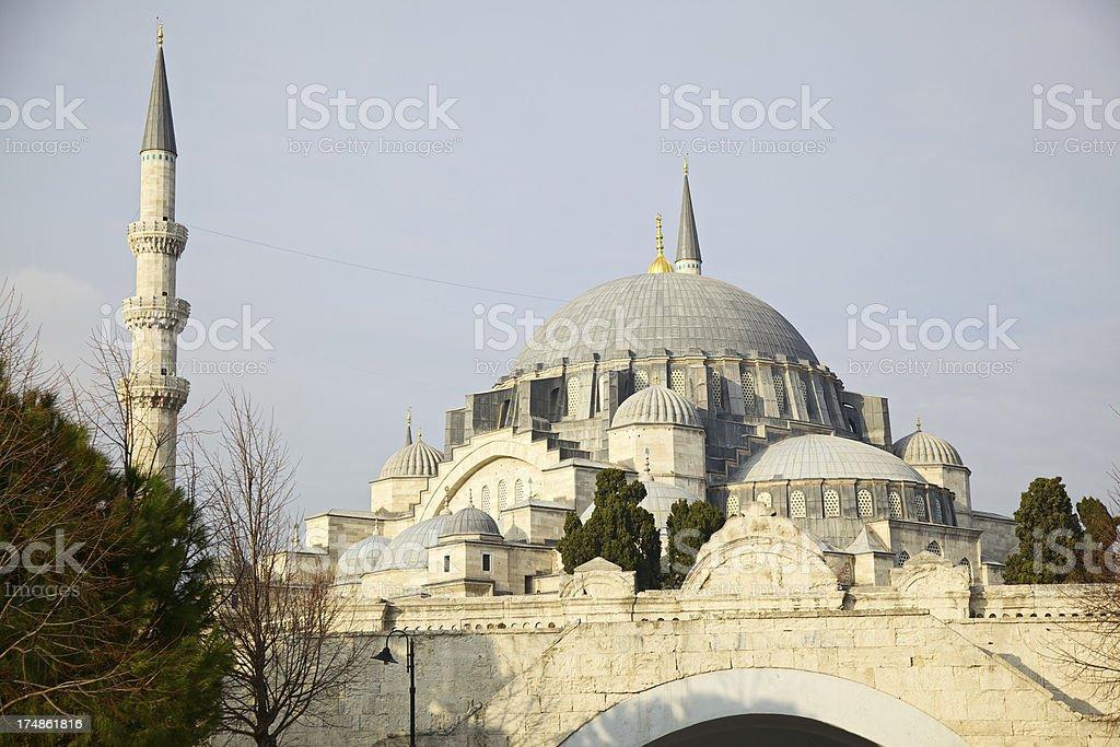 Suleiman's Mosque, Istanbul, Turkey stock photo