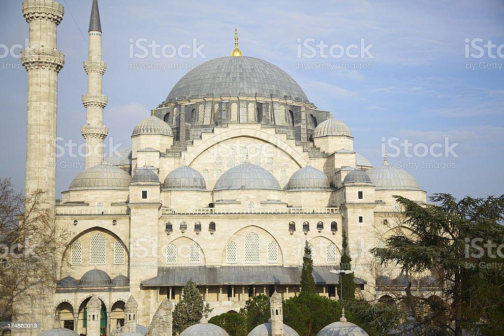 Suleiman's Mosque, Istanbul, Turkey royalty-free stock photo