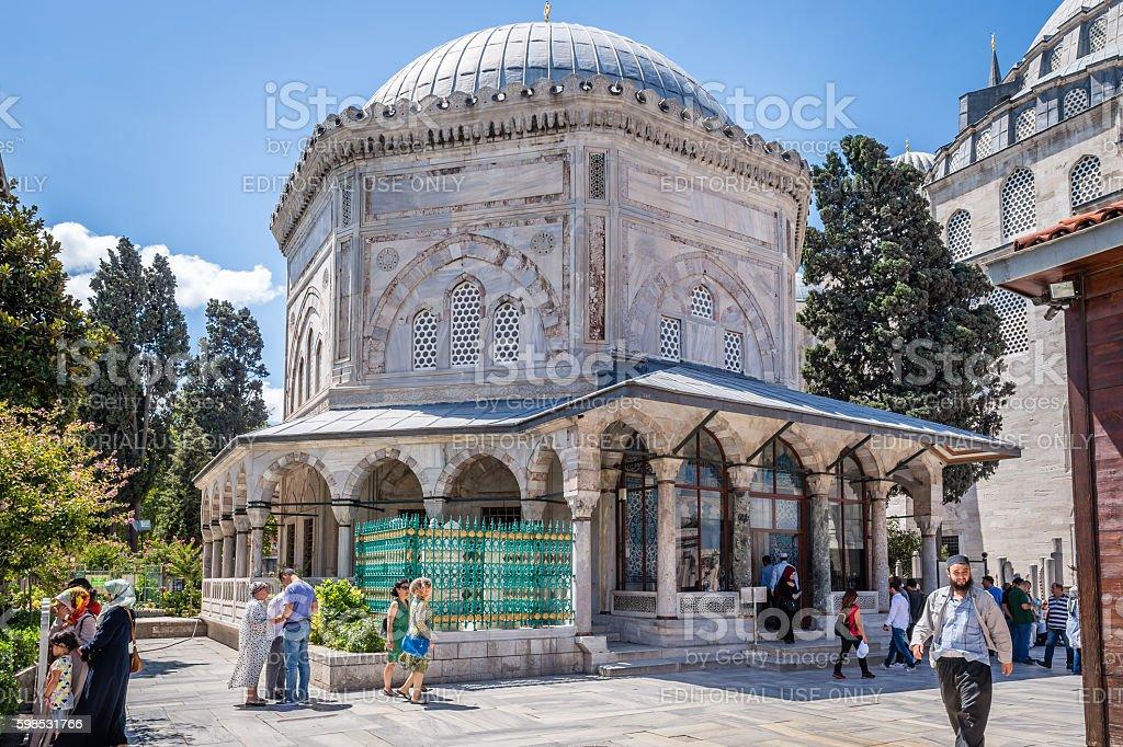 Mosquée Süleymaniye photo libre de droits