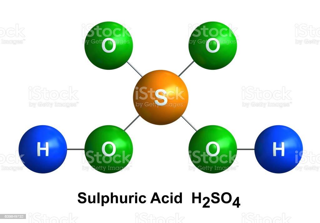 Sulfuric Acid stock photo