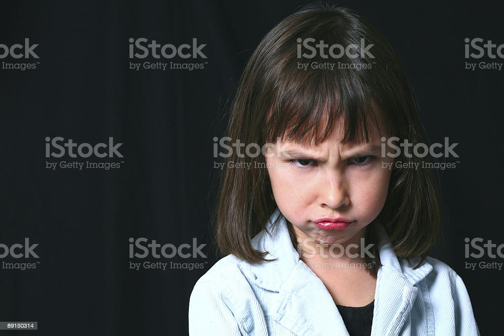 Sullen stock photo