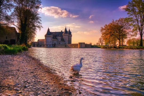 Sully Sur Loire, France stock photo