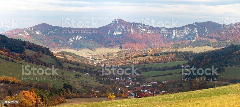 Sulov rockies - sulovske skaly - Slovakia stock photo