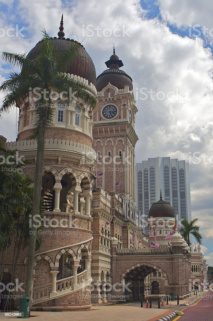 Sultan Abdul Samad Building royalty-free stock photo
