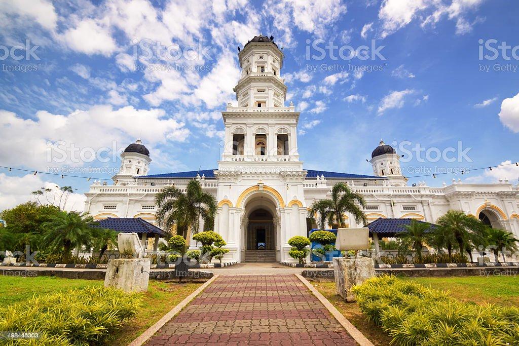Sultan Abu Bakar State Mosque stock photo