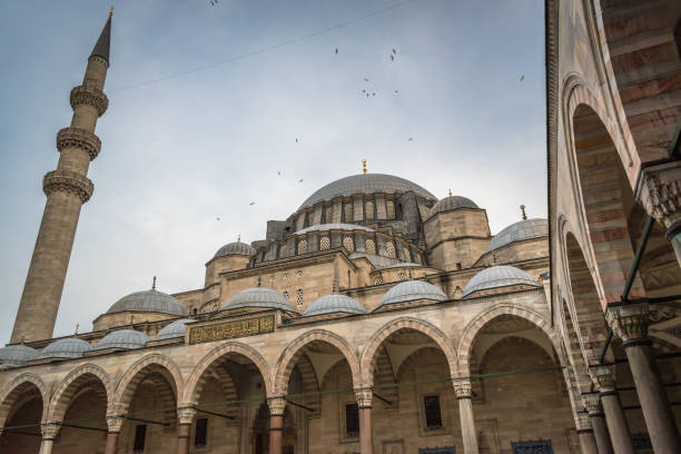 Sultan Ahmed Mosque / Blue Mosque, Istanbul, Turkey stock photo