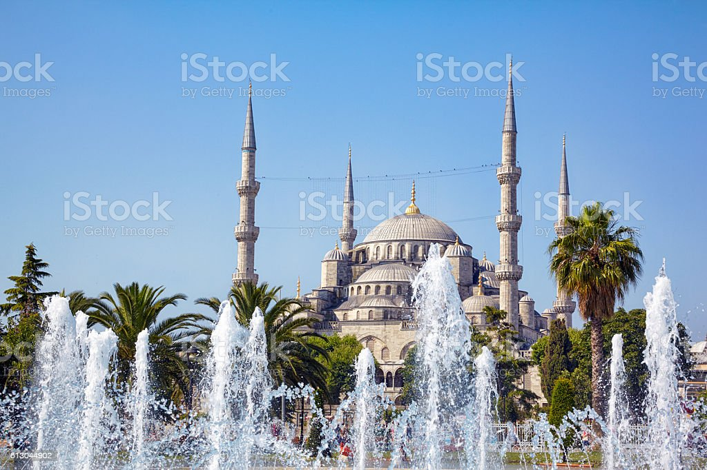 Sultan Ahmed Mosque (Blue Mosque), Istanbul stock photo