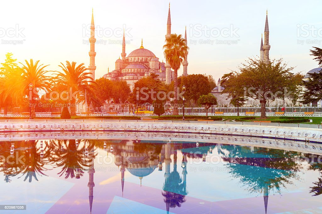Sultan Ahmed Mosque (Blue Mosque), Istanbul, Turkey. foto royalty-free