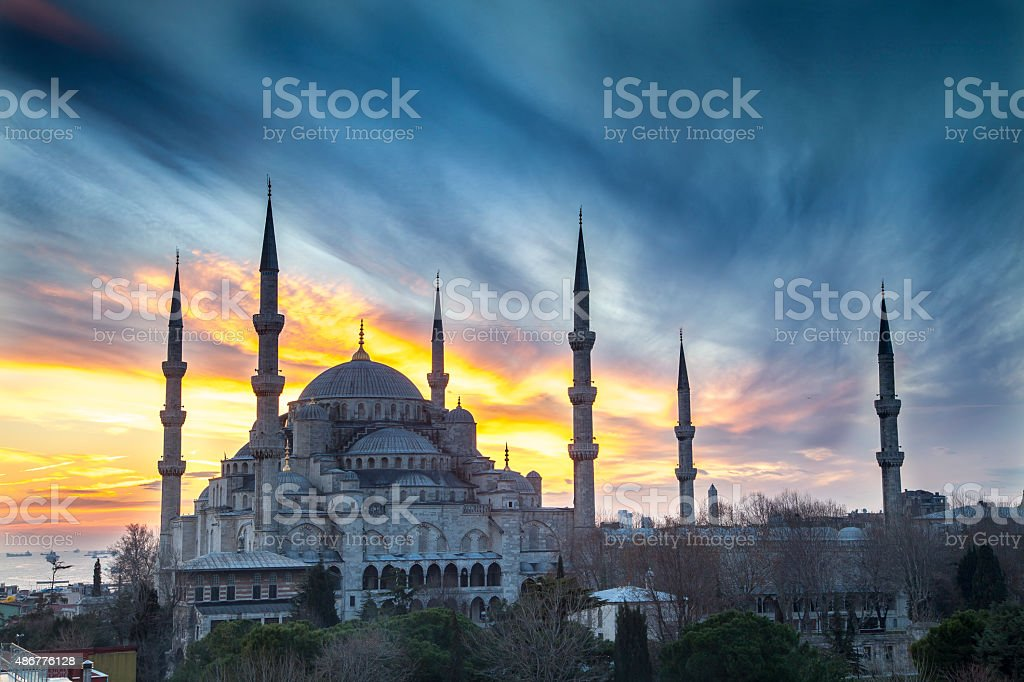 Sultan Ahmet stock photo