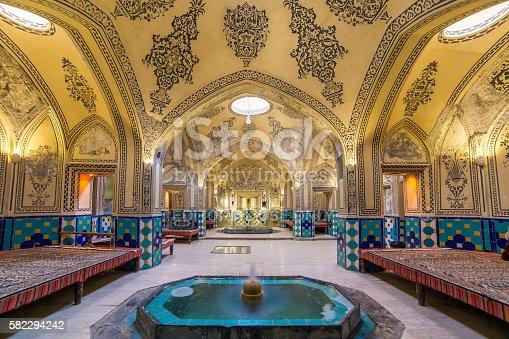 istock Sultan Amir Ahmad historic bath, Kashan, Iran 582294242
