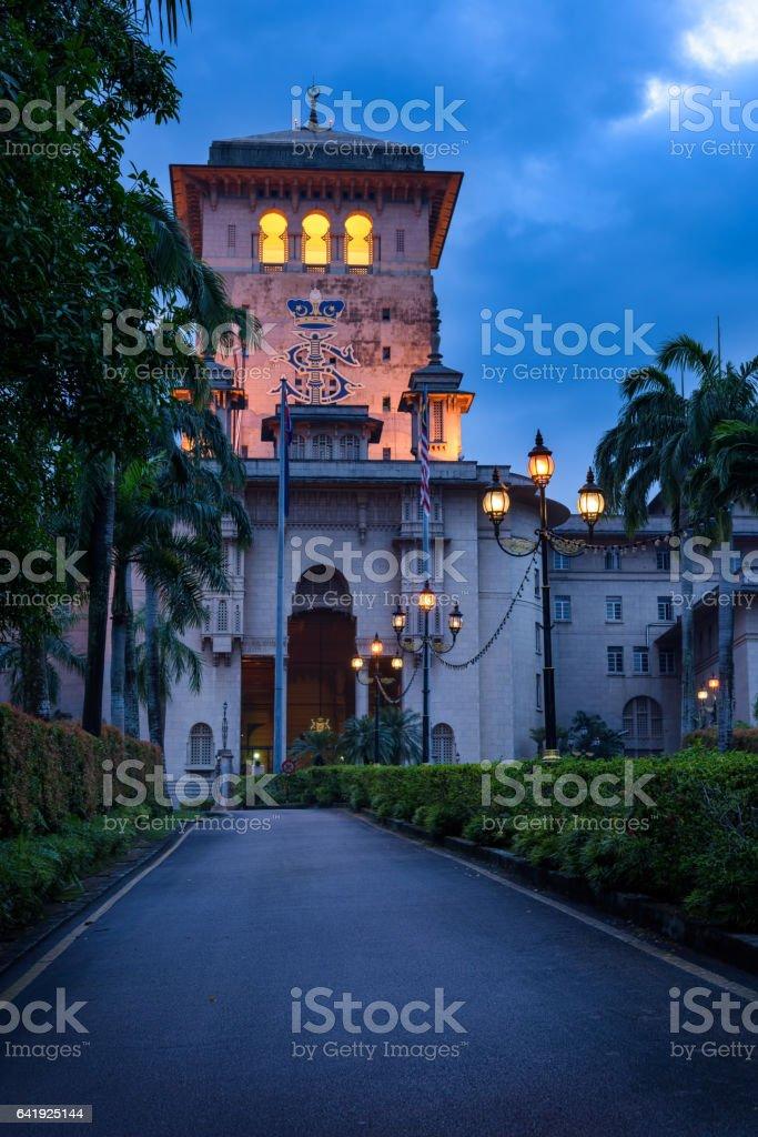 Sultan Ibrahim Building in Johor Bahru, Malaysia stock photo