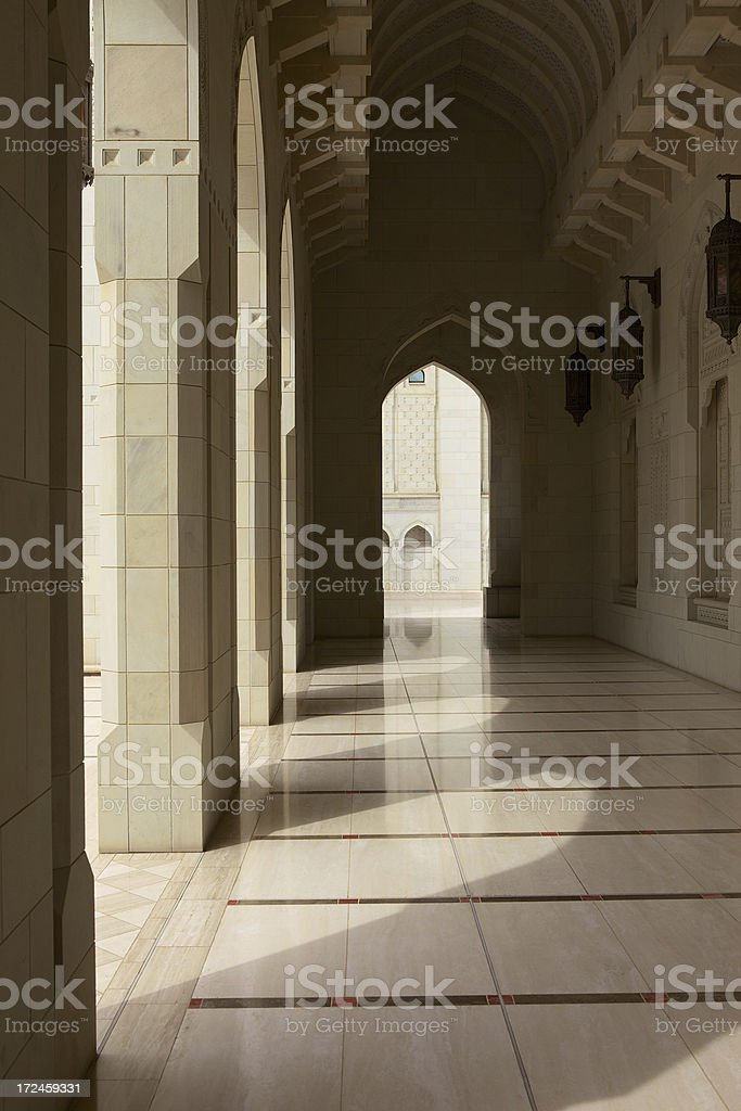 Sultan Qaboos Grand Mosque royalty-free stock photo