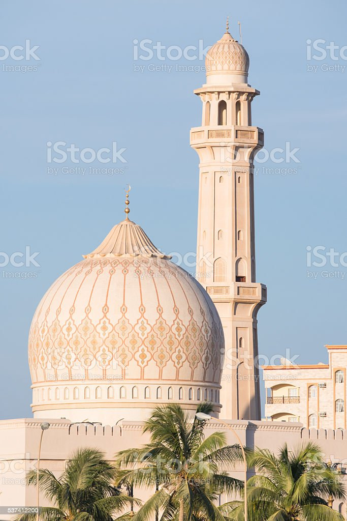 Sultan Qaboos Grand Mosque, Salalah, Oman stock photo