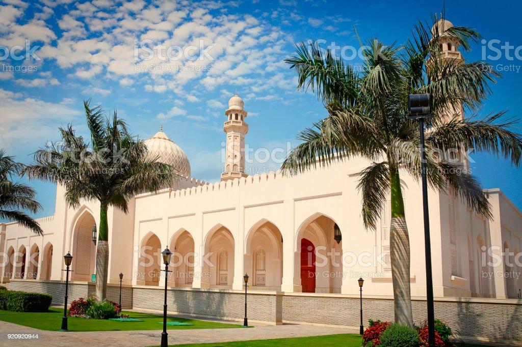 Sultan Qaboos Mosque in Salalah stock photo