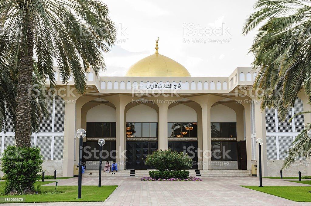 Sultan Qaboos Mosque royalty-free stock photo