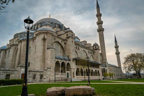 Sultan Suleiman Mosque, Istanbul, Turkey stock photo