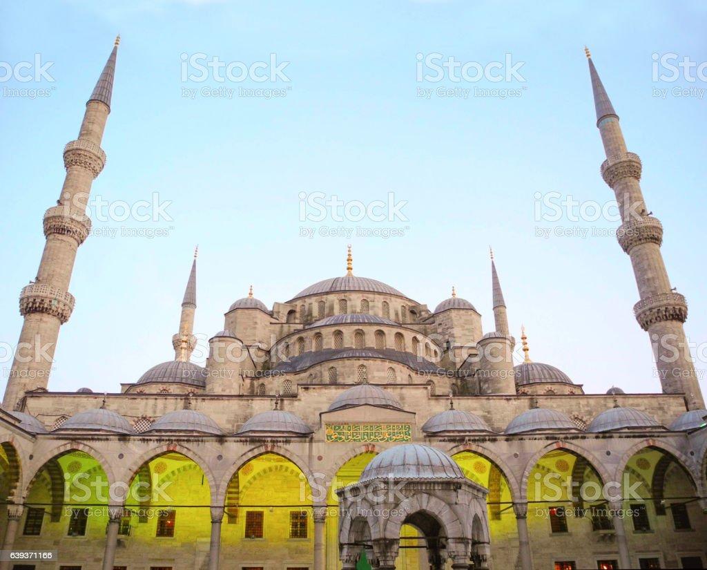 Sultanahmet Mosque, Istanbul. stock photo