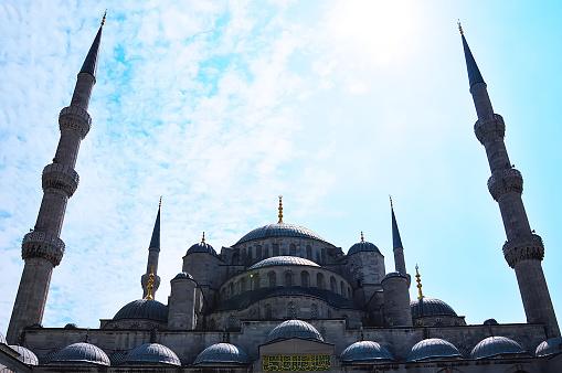 Sultanahmet Mosque also Blue Mosque, Istanbul, Turkey