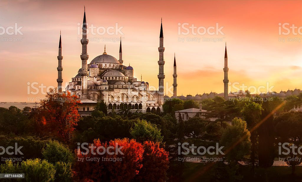 Sultanahmet Mosque stock photo