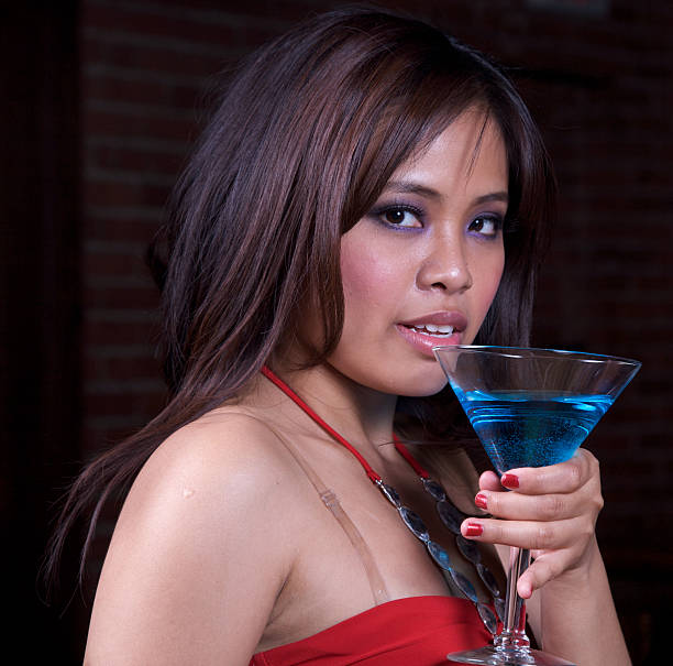 Sultry Drink stock photo