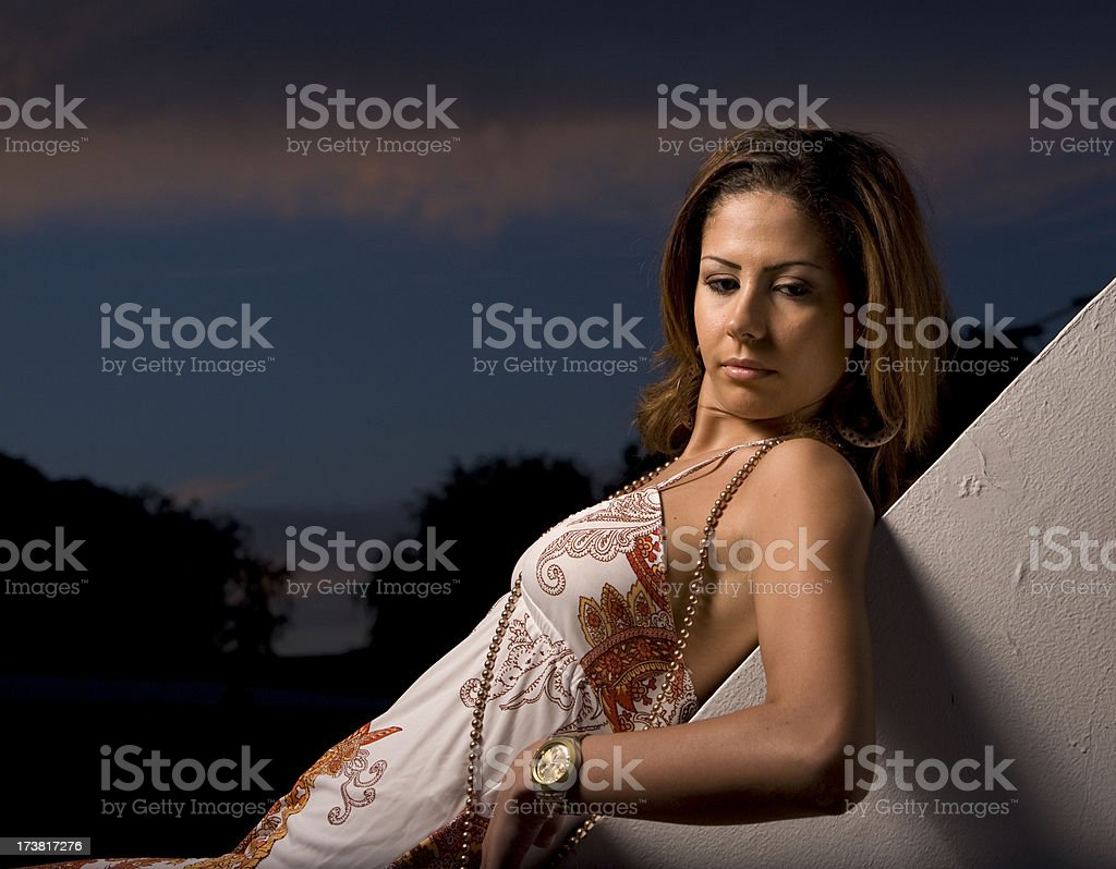 Sultry stock photo