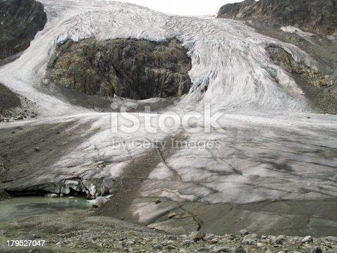 Sulzenauferner glacier in the stubai alps, Austria