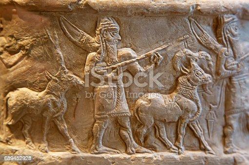 istock Sumerian artifact 689452928