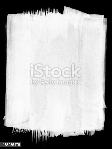 istock Sumi-e Painted Background Border or Frame 183236478