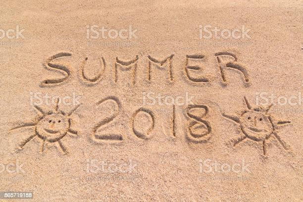 Summer 2018 sign